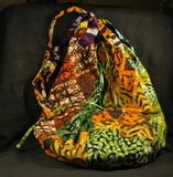 Afrika Tasche Beutel - aus Batik Stoff