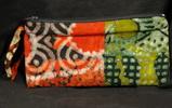 Afrika Tasche Schüleretui - aus Batik Stoff