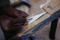 Herstellung einer Tuareg Armspange aus SIlber