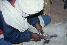 Herstellung von Tuareg Ohrringen aus SIlber