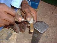 Herstellung einer Tuareg Ringes aus SIlber